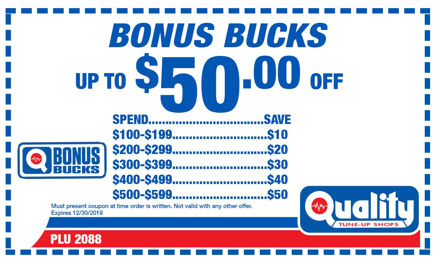 Bonus Bucks