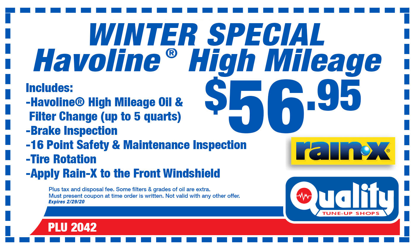Winter Special Havoline High Mileage