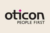 Oticon hearing aid logo