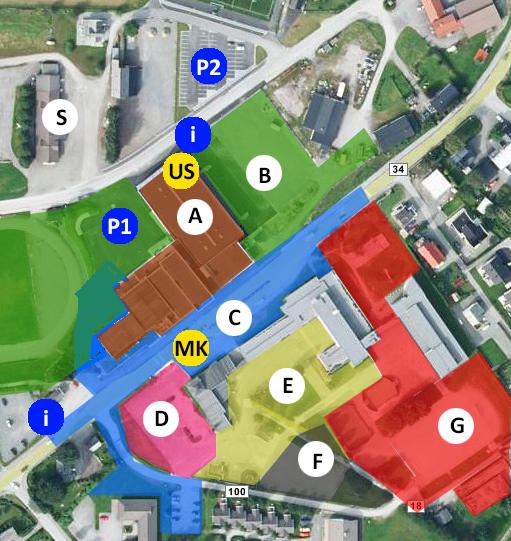Illustrasjon av område