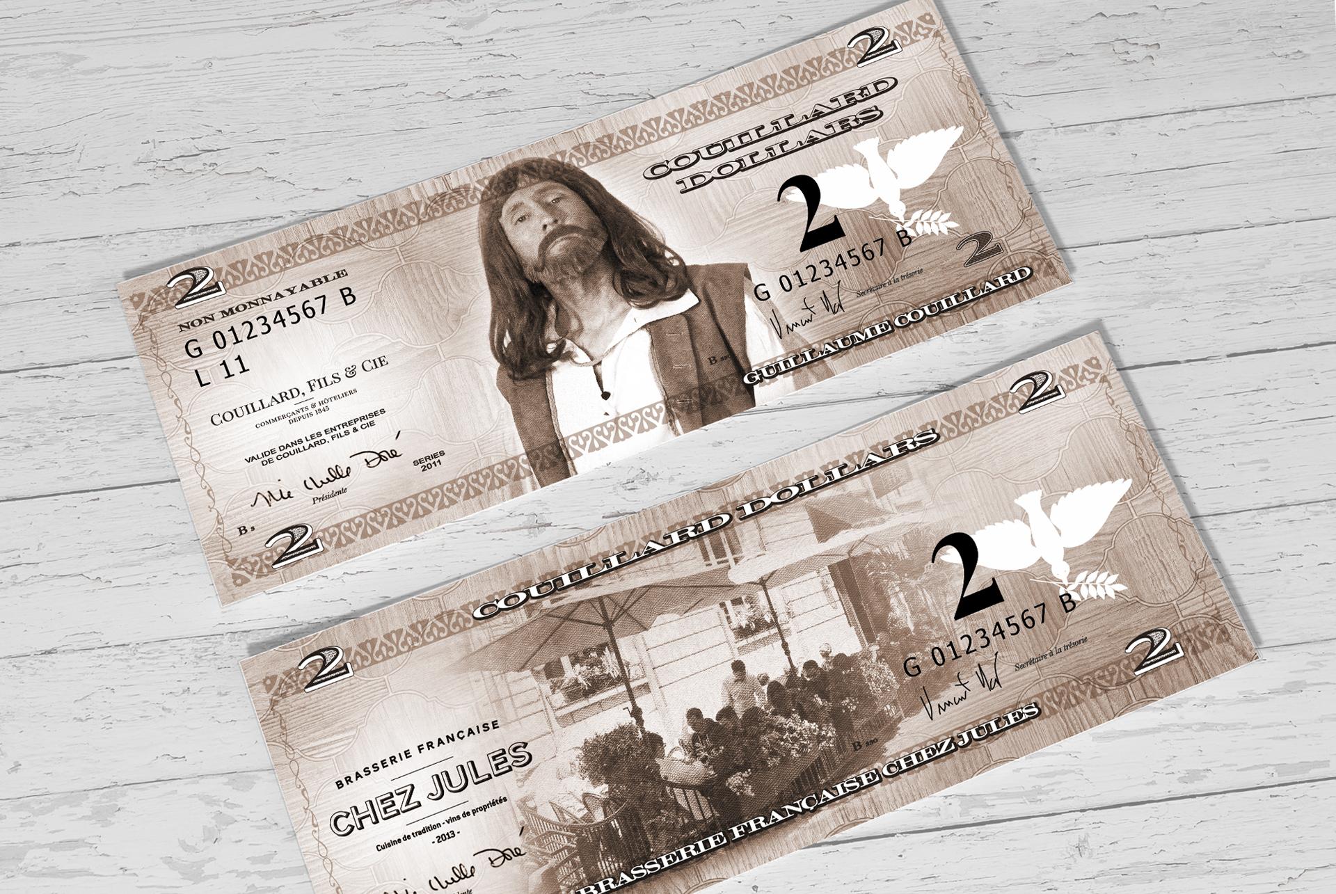 Design / Couillard Dollars
