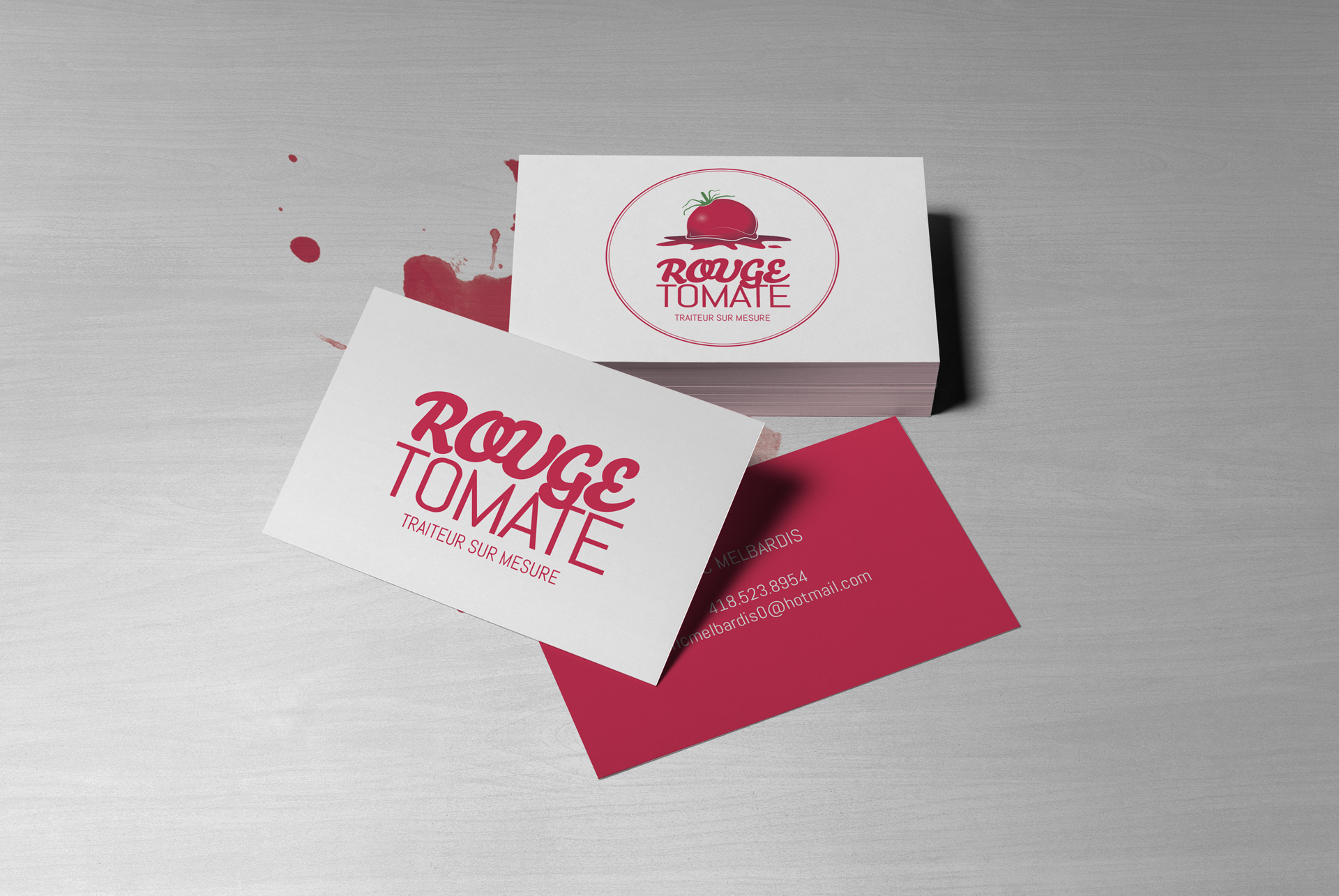 Logo / Rouge tomate