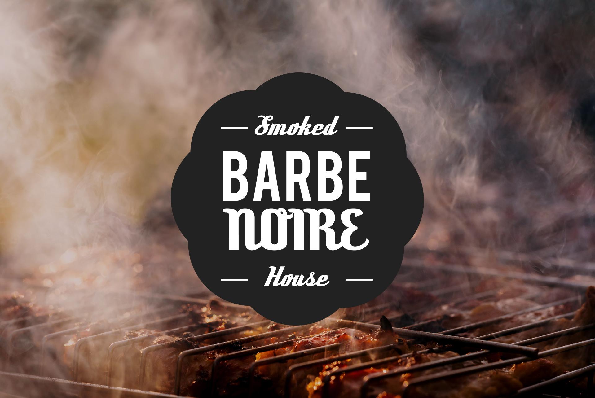 Logo / Barbe Noir