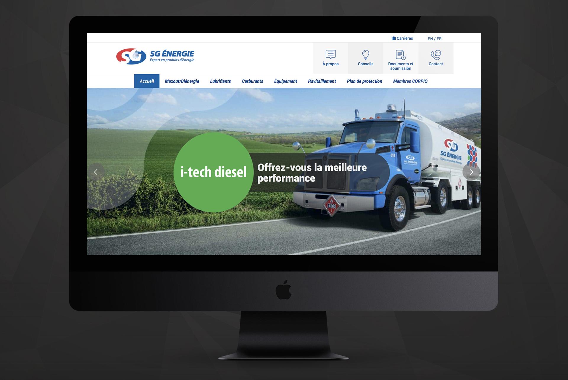 Web design / SG énergie