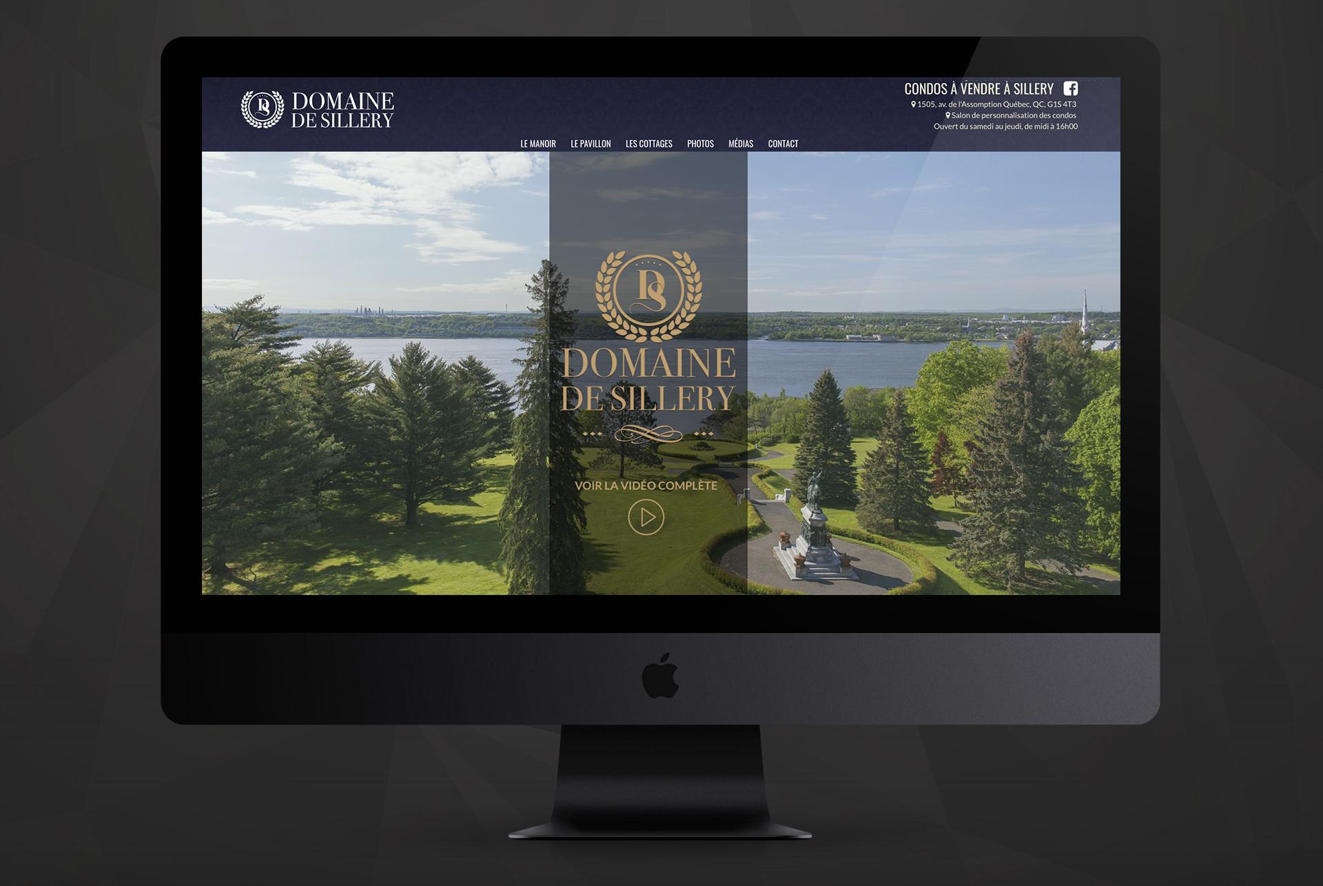 Design web / Domaine de Sillery