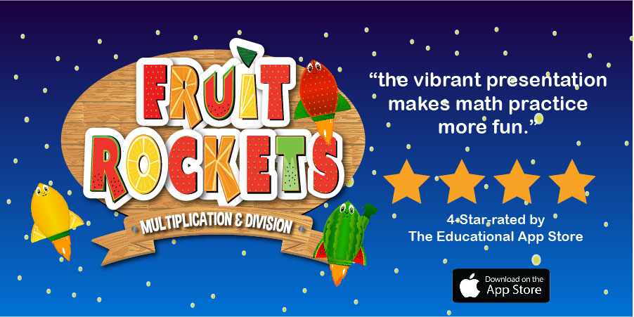 A third grade math game that teaches multiplication facts