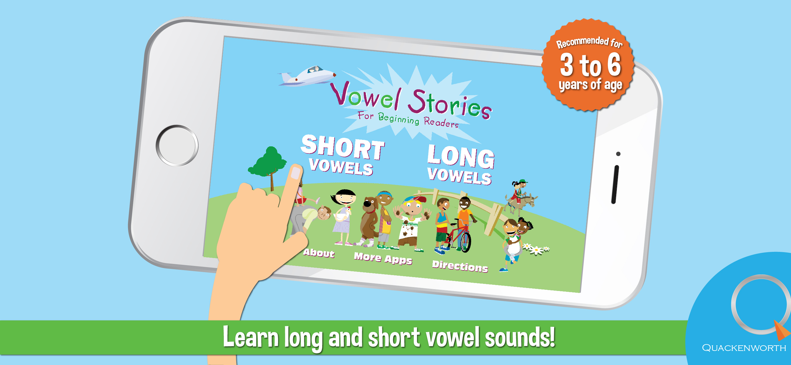 Learn vowel sounds with Vowel Stories