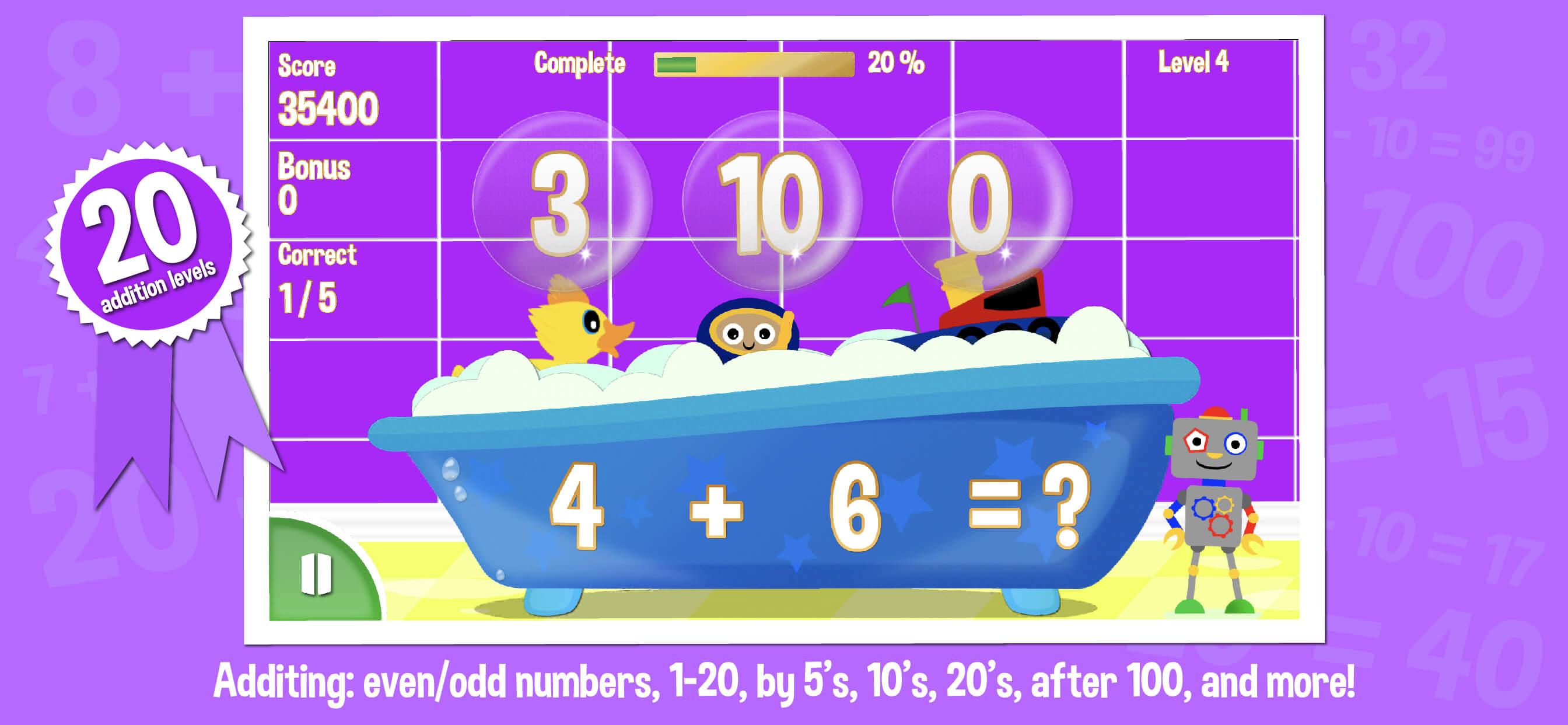 First-grade-math-game