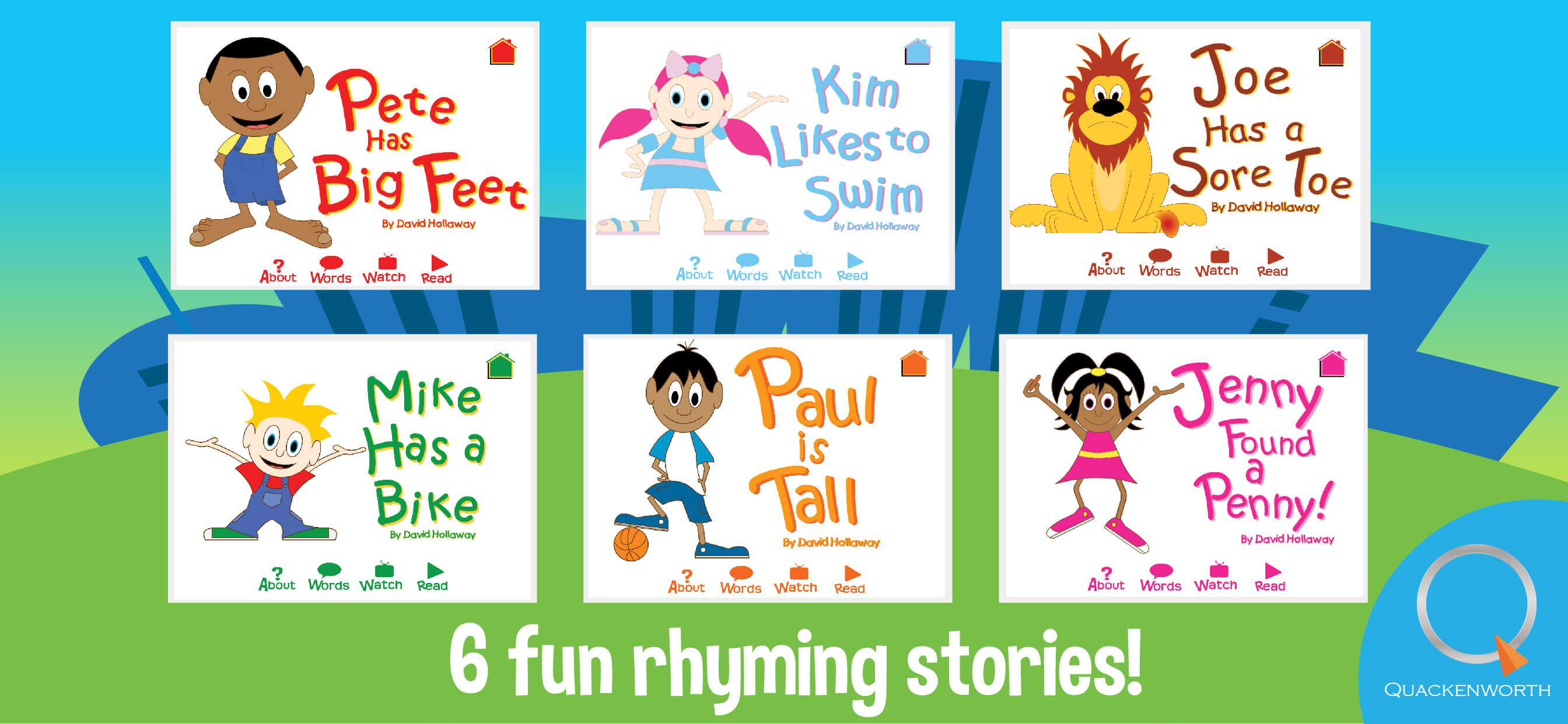 Learn to read - rhyming stories-3