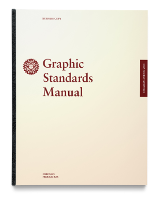 Chicano Federation graphic standards design manual