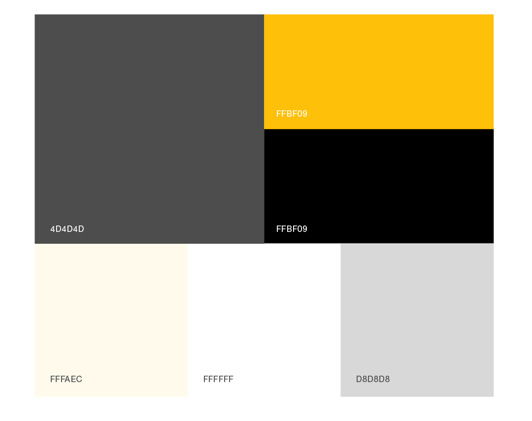 IdeaPros brand color palette with hex codes