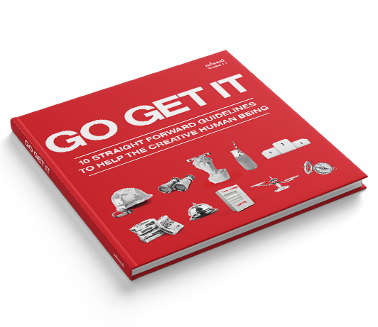 Go Get It ebook angled shot from Mhood Design