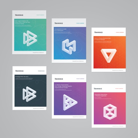 Theorem Thought Leadership Whitepaper Cover Designs