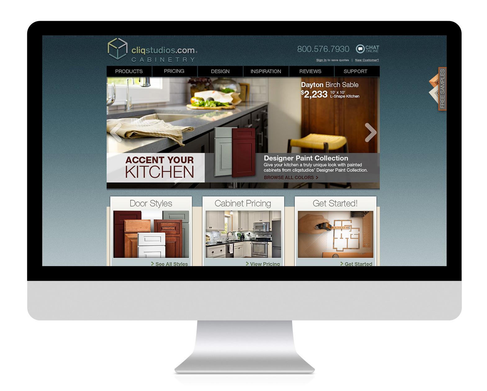 Newer website design