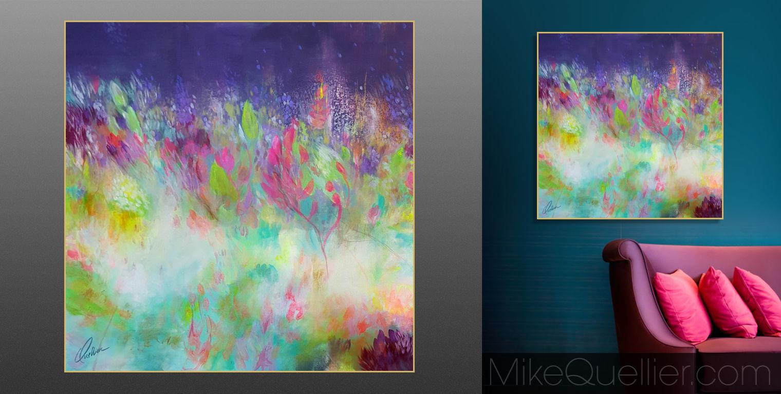 MYSTIC GARDEN No.1 Painting