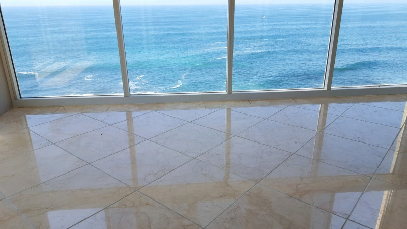 residential stone polishing in san diego california