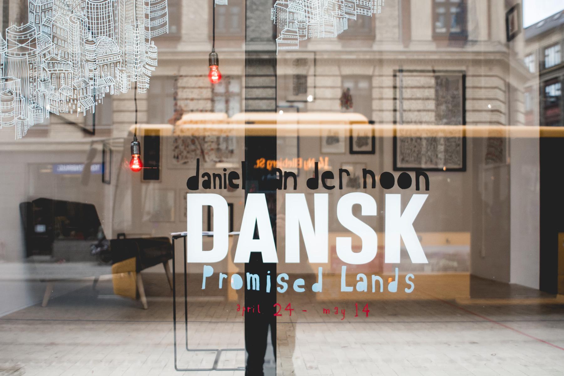 """""""Promised Lands"""", DANSK (MADE FOR ROOMS), Vesterbro, Copenhagen, April 2015"""
