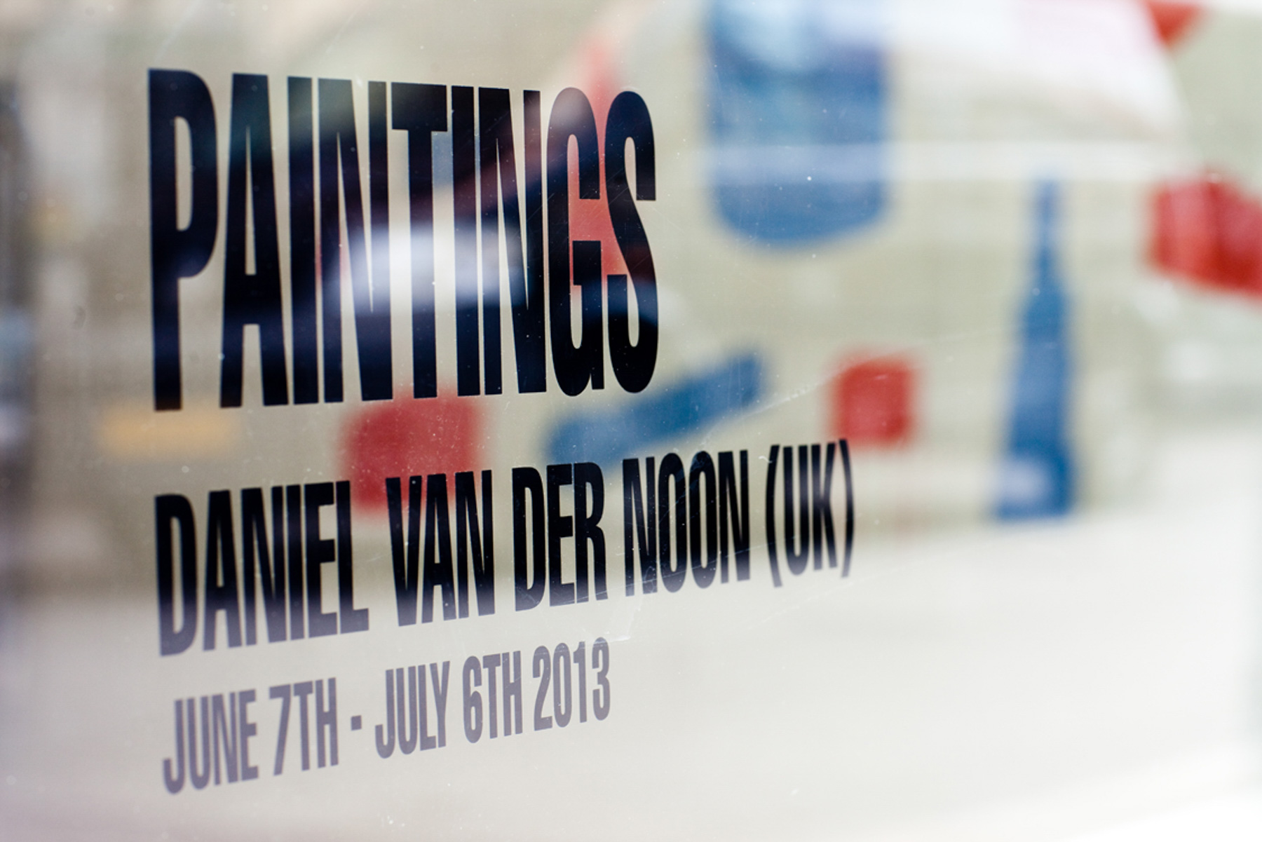 """Paintings"", Lunchmoney Gallery For Contemporary Art, Aarhus, June 2013"