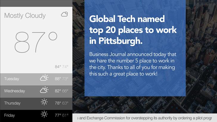 publicize workplace wins