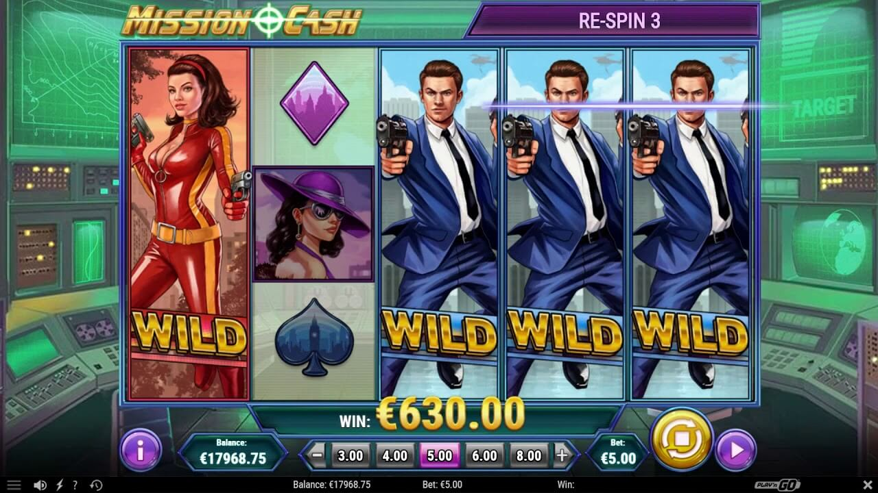 mission cash slot