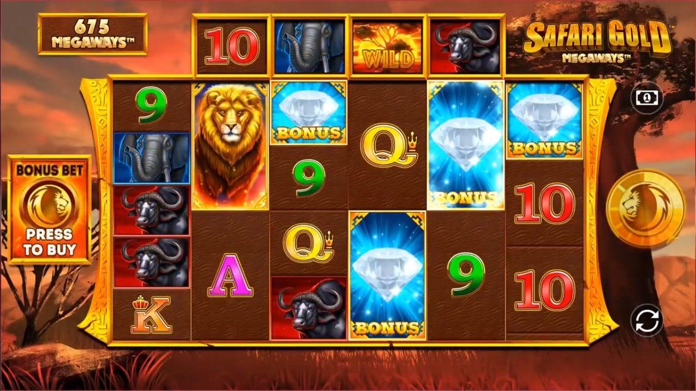safari gold megaways slot