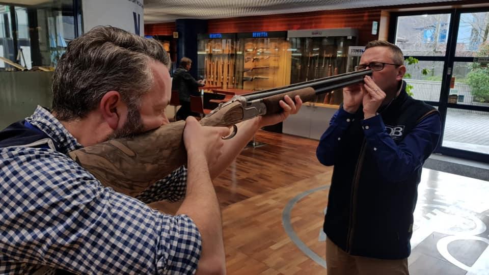 David beardsmore Gun-Fitting