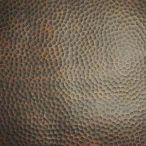 Fark Patina Hammered Copper