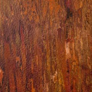 Tiger Patina Hammered Copper