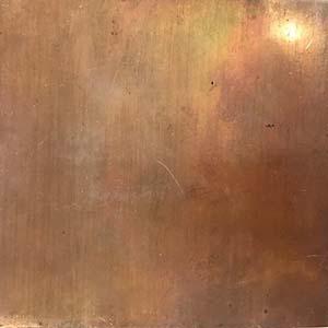 Vintage Patina Polished Copper