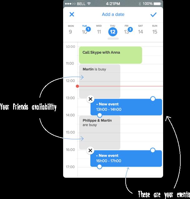 Vyte iOS Calendar