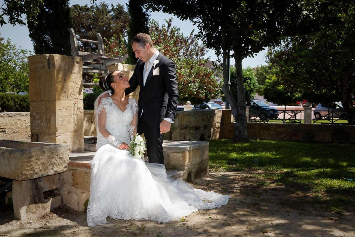 wedding photography in the grounds of the church