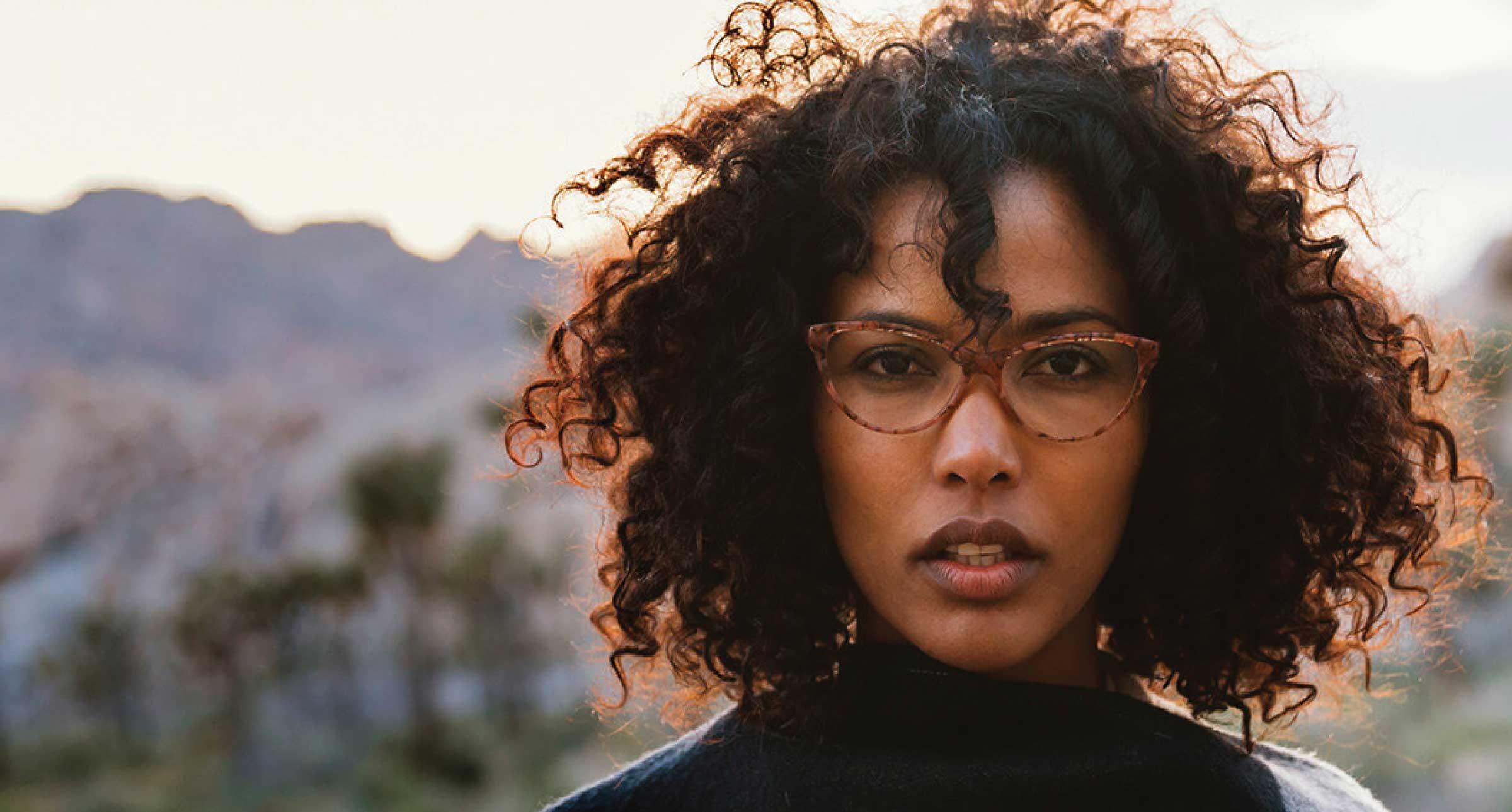 Women wearing Zenni Optical frames