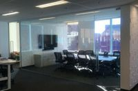 Acquia glazed board room