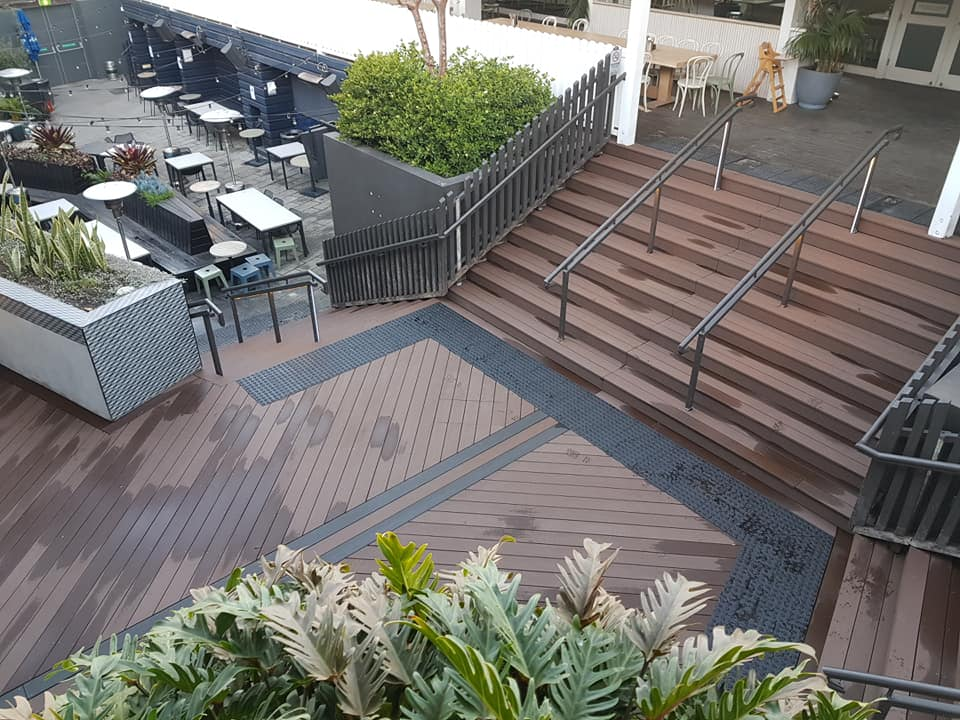 New deck completed at The Fiddler