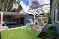 After. New granny flat designed to match the architecture of the main dwelling.