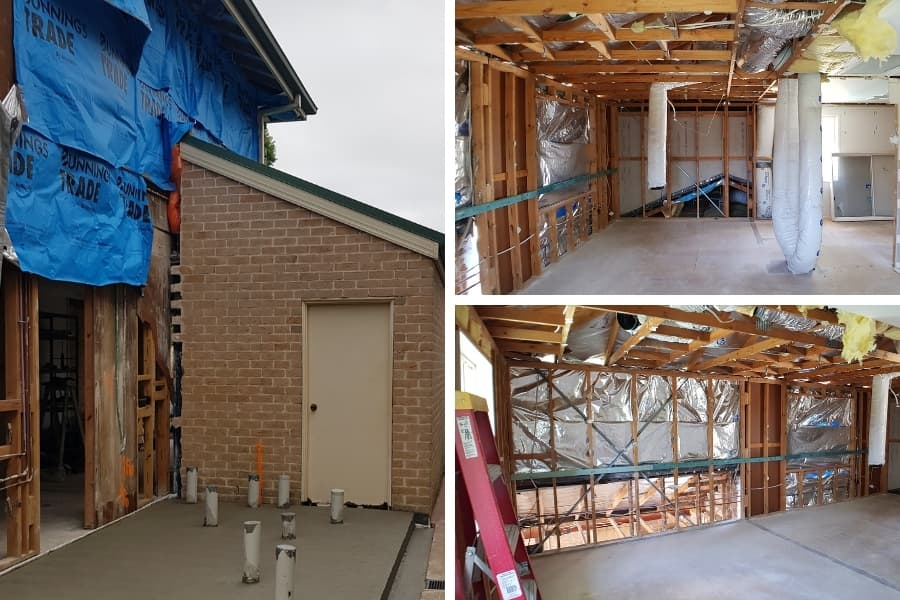 Kellyville ground and first floor addition project photos