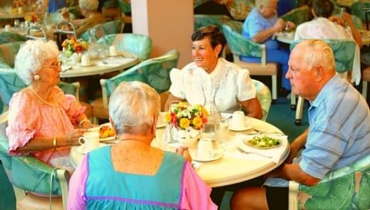 Salvation Army retirement village fitout