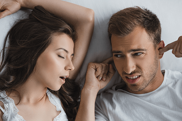 Stop disruptimg your partner's sleep!