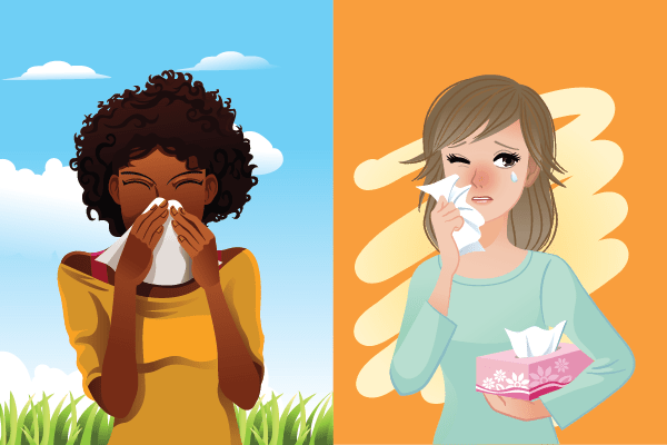 Is it allergies or sinusitis? Can you tell the difference?