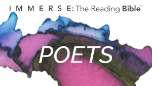 Poets Immerse: The Reading Bible