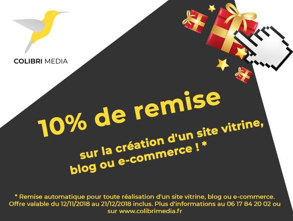 -10 % sur votre site internet