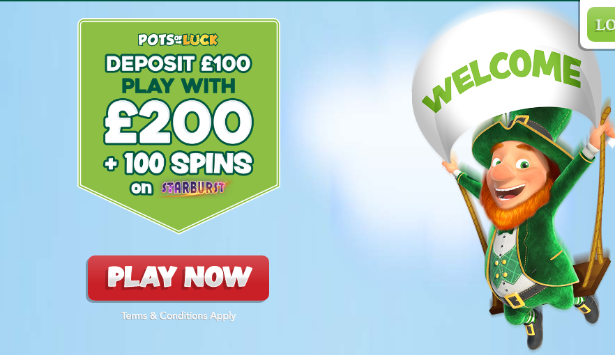 Potsofluck Casino Bonuses