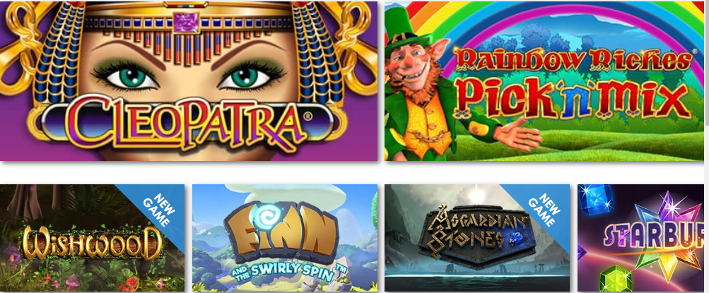 Potsofluck Casino Games Selection