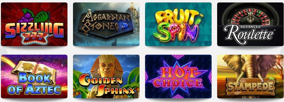 Omni Slots Casino Games