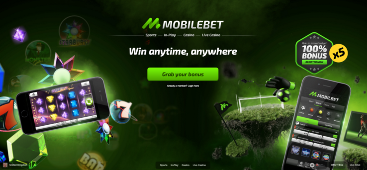 The Mobilebet Casino Welcome Bonus