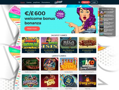 Casinopop Casino game selection