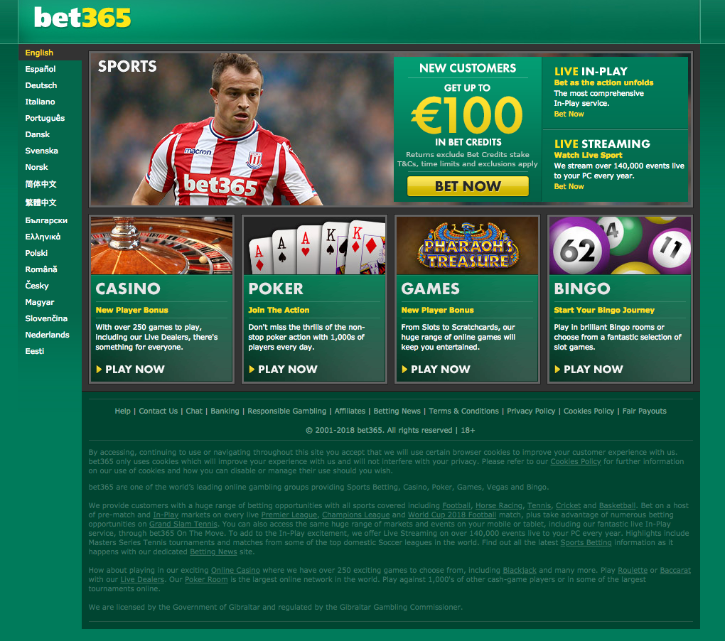 bet365 welcome bonuses for Casino and Sports betting!
