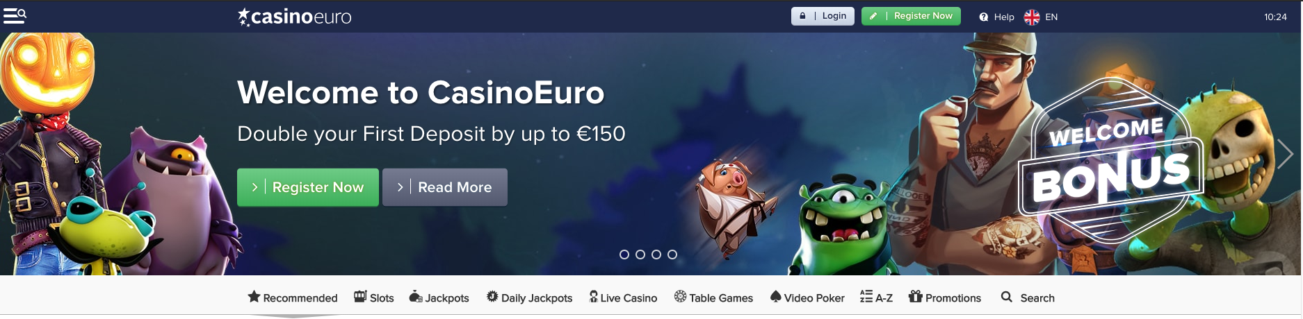 Weekend surprise, an example casino Euro casino offers