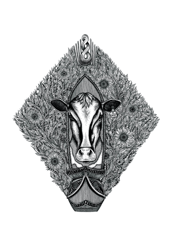 Ink Pen Waikato Illustration