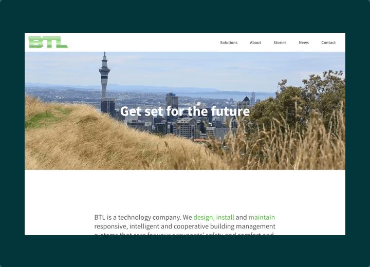 BTLNZ Website Design - btlnz.co.nz